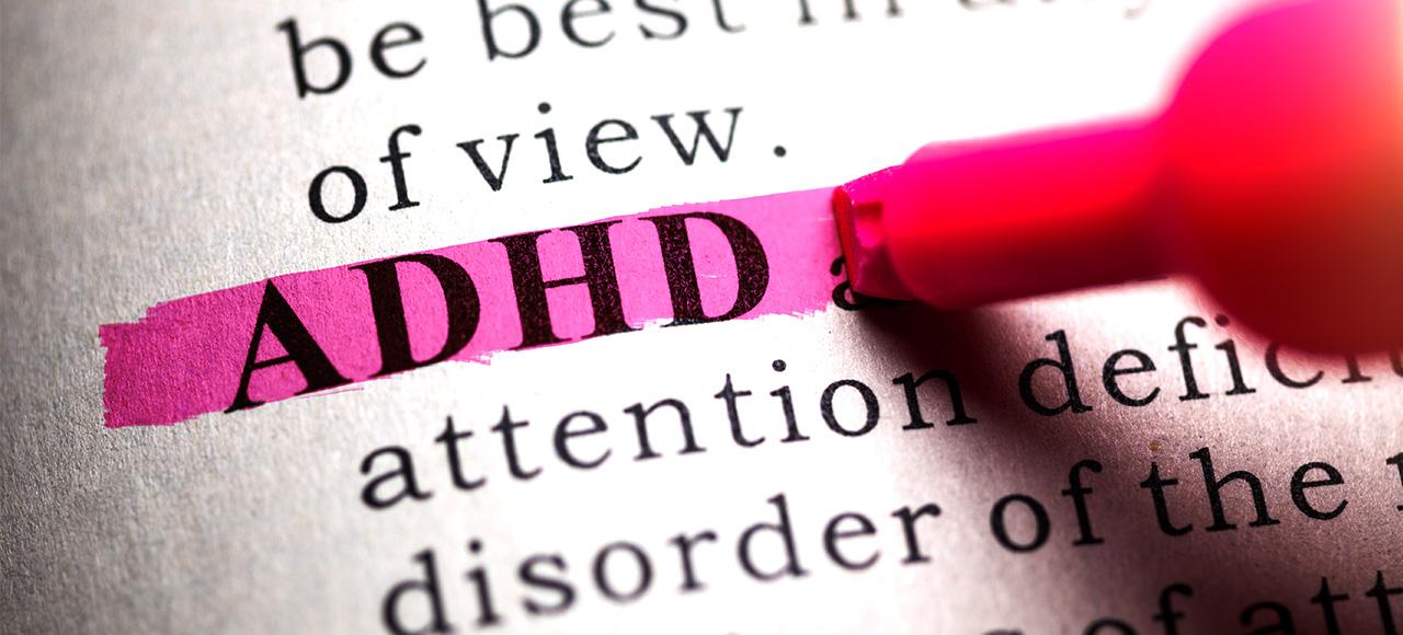「注意力不足過動症」(Attention Deficit Hyperactivity Disorder,簡稱ADHD)的患者